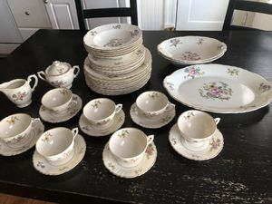 40 pc Antique China set for Sale in Westwood, MA