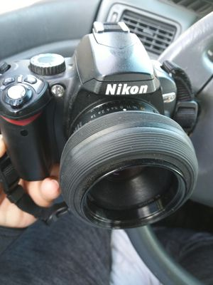 Nikon D60 with Nikon af Nikkor 50mm lens for Sale in South El Monte, CA