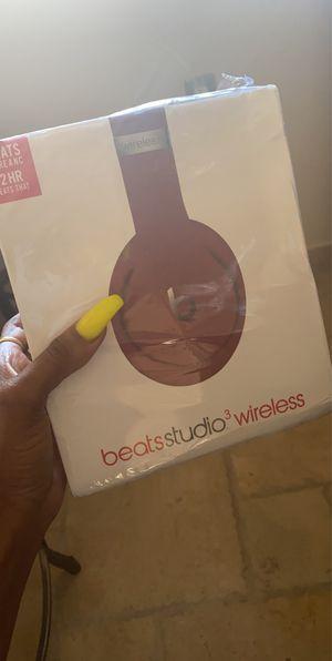 BEATS STUDIO 3 WIRELESS HEADPHONES! for Sale in West Covina, CA