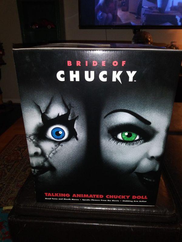 Bride of Chucky doll