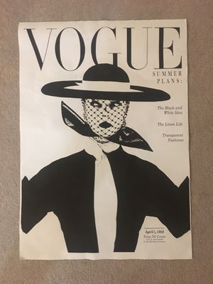 Vogue Canvas print for Sale in Washington, DC