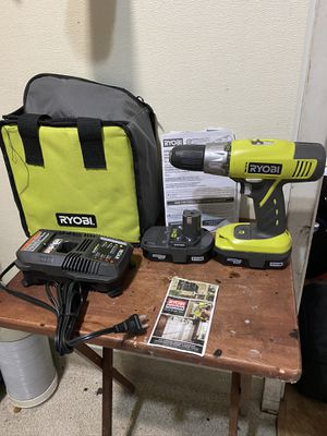 RYOBI 18V cordless drill with Batteries for Sale in Hayward, CA