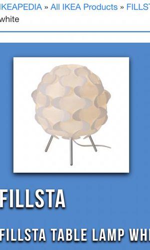 New IKEA decorative table lamp for Sale in Altadena, CA