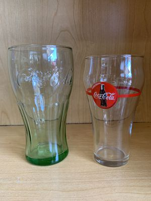 Coca-Cola Glass Cups for Sale in Henderson, NV