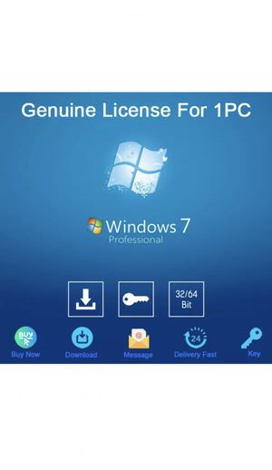 Windows 7 Pro 32/64bit Activation Download License For 1 PC Genuine for Sale in Beverly Hills, CA