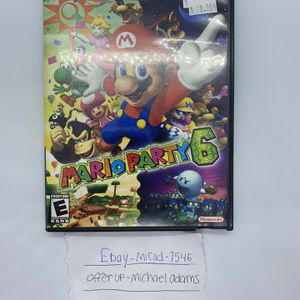 Mario Party 6 for Sale in Charter Township of Berlin, MI
