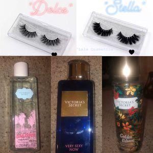 Victoria Secret Fragrance Mist & 3D Mink Lashes for Sale in Lodi, CA