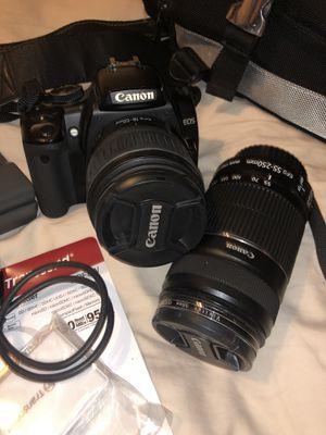 Canon rebel xti eos 400d bundle for Sale in Tucson, AZ