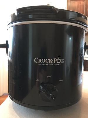 Crock pot the original slow cooker 4 quart for Sale in Denver, CO
