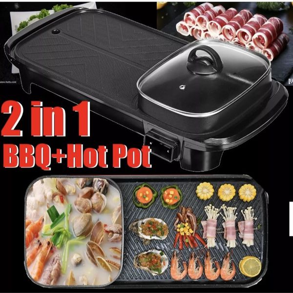 Brand new 2 In 1 Shabu And BBQ grill