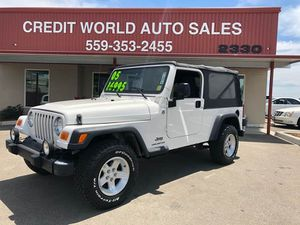 2005 Jeep Wrangler Unlimited for Sale in Fresno, CA