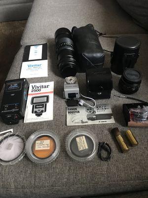 Cannon FTB Camera & Accessories for Sale in Bloomingdale, IL