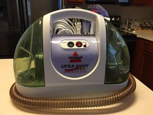 Bissell Little green compact deep cleaner proheat turbo brush for Sale in Grand Prairie, TX
