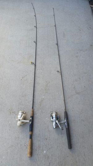 Fishing Poles Rods Reels Caña Pescar for Sale in Patterson, CA
