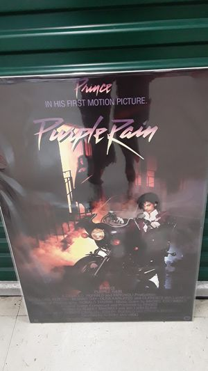 PRINCE PURPLE RAIN POSTER for Sale in East Point, GA
