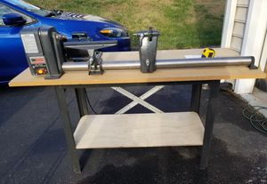 Craftsman 1/2 HP Lathe with Table for Sale in Gaithersburg, MD