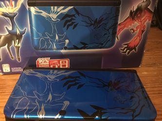 Pokémon Nintendo 3DS XL Blue Xerneas for Sale in Trenton,  NJ