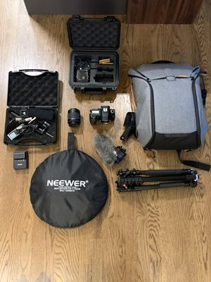 DSLR Camera and Accessories for Sale in Seattle, WA