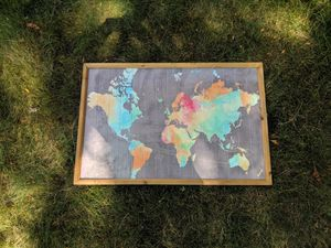 World Map Home Decor for Sale in Arvada, CO