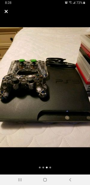 Ps3 with 18 video games for Sale in Lawrence, MA