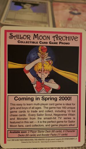 Sailor Moon Collectible Card Game for Sale in El Cajon, CA