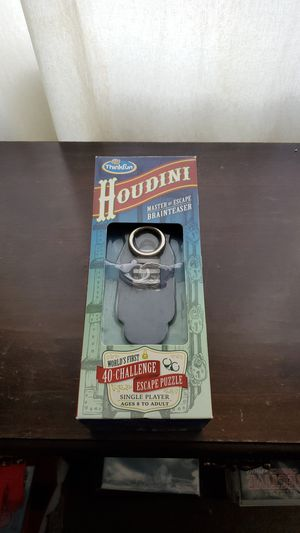 Thinkfun Houdini Puzzle Game for Sale in Union City, CA