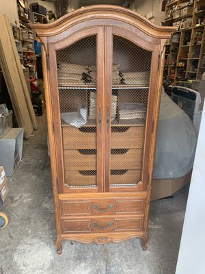 2- antique wardrobes for Sale in Queens, NY