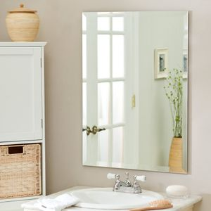 Frameless wall mirror like new for Sale in Takoma Park, MD