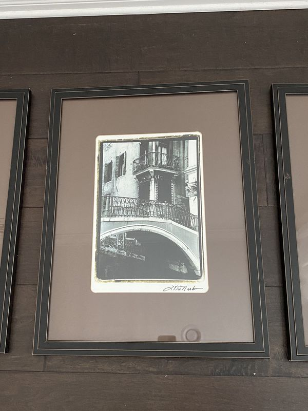 Crate & Barrel Venice Pictures (set of 3)