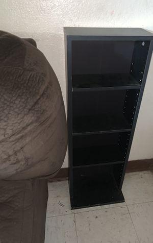 Small Black DVD shelf for Sale in Modesto, CA