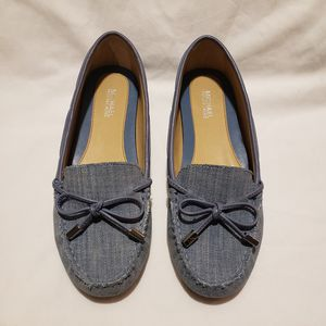 Michael Kors Daisy Washed Denim Moccassins - size 6 for Sale in Atlanta, GA
