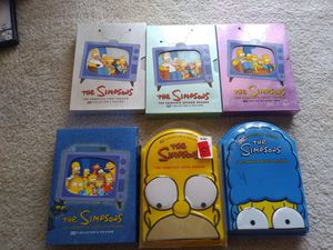 THE SIMPSONS TV Series Seasons 1 2 3 4 6 7 DVD Collectors Edition Mint Discs for Sale in Palmdale, CA