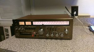 PANASONIC RA6600 VINTAGE AM/FM STEREO RECEIVER WITH 8 TRACK PLAYER RECORDER for Sale in Arlington, TX