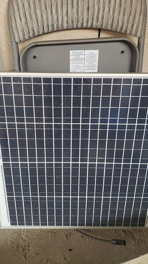 12v solar panel 60w like new for Sale in San Diego, CA