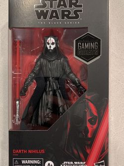 Darth Nihilus Black Series *MINT* Star Wars GameStop Exclusive Gaming Greats E9992 Knights Old Republic KOTOR for Sale in Lewisville,  TX