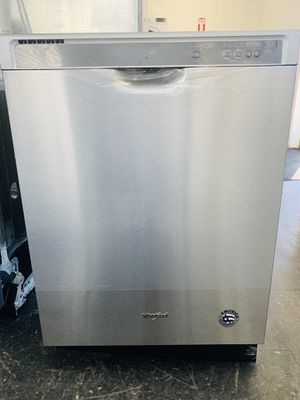 Whirlpool Stainless Steel Dishwasher NEW/OPEN BOX for Sale in Layton, UT