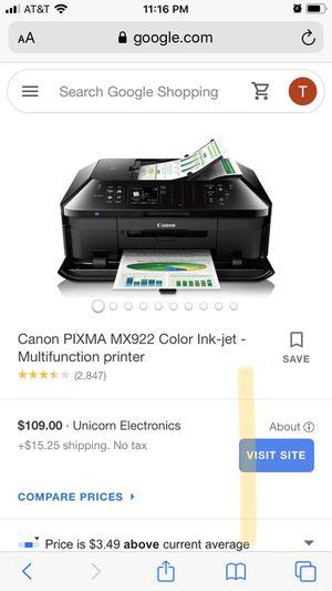 Canon printer for Sale in Odessa, TX