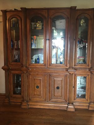 China cabinet and table set for Sale in Los Angeles, CA