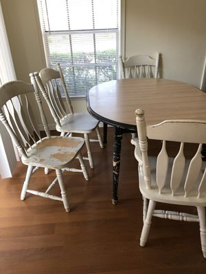 DIY kitchen table. Can be sanded down and made into your own! for Sale in Tampa, FL
