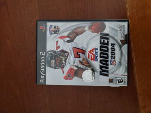 Madden 04 for Playstation 2 Ps2 complete in box for Sale in Lilburn, GA