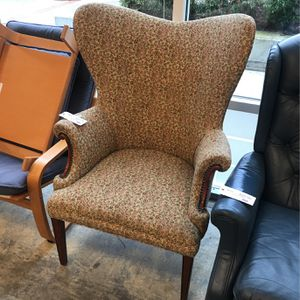 Floral Wingback Chair 25% off listed price for Sale in Edgewood, WA