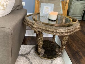 Antique Gold Side Tables AND Coffee Table for Sale in Upper Marlboro, MD