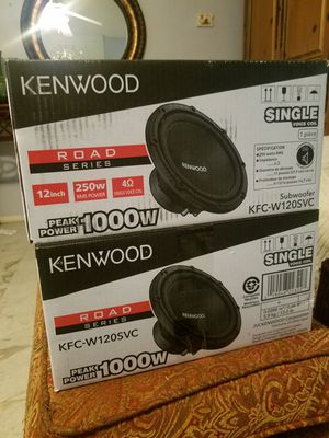NEW 2 12 Kenwood Subs for Sale in Austin, TX