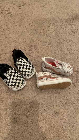 Vans ( size 2) 10$ each.. serious inquires only!!! for Sale in Memphis, TN