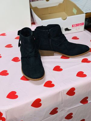 Booties! Black Micro Low Top! Size 6.5 BRAND NEW w TAGS & BOX for Sale in West Columbia, SC