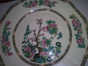 Old plate with # and maker on bottom for Sale in Belpre, OH
