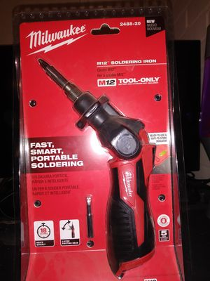 Milwaukee M12 soldering iron for Sale in Rockville, MD