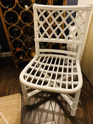 Authentic Ficks Reed vintage bamboo chair for Sale in Port St. Lucie, FL
