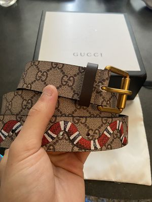Gucci Snake Belt for Sale in Weston, FL