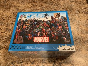 New sealed Marvel 3000 piece jigsaw puzzle Aquarius. for Sale in Queen Creek, AZ